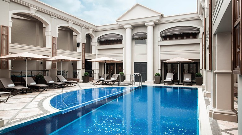 "The Langham, Hong Kong Pool. Images powered by <a href='http://www.leonardo.com'  target=""_blank"">Leonardo</a>."
