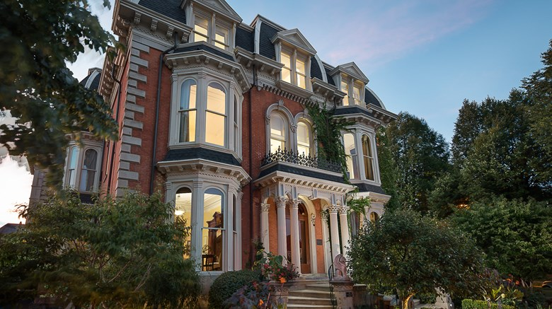 "The Mansion on Delaware Avenue Exterior. Images powered by <a href='http://www.leonardo.com'  target=""_blank"">Leonardo</a>."