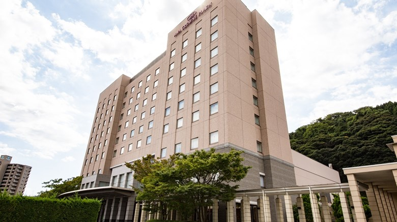 "Ana Crowne Plaza Yonago Exterior. Images powered by <a href='http://www.leonardo.com'  target=""_blank"">Leonardo</a>."