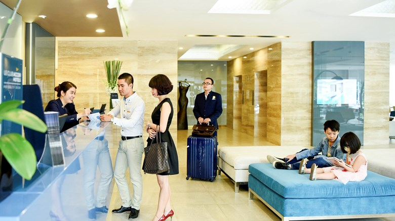 "Novotel Suites Hanoi Exterior. Images powered by <a href=&#39;http://www.leonardo.com&#39;  target=""_blank"">Leonardo</a>."