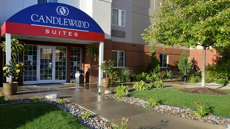 "Candlewood Suites Detroit-Warren Exterior. Images powered by <a href='http://www.leonardo.com'  target=""_blank"">Leonardo</a>."