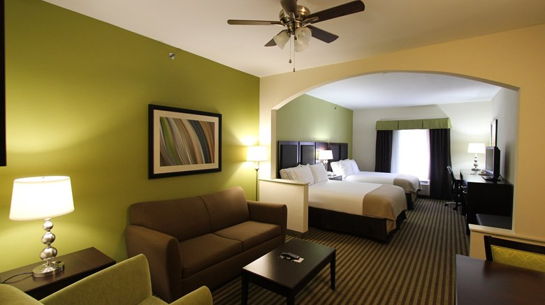 "Holiday Inn Express Nacogdoches Suite. Images powered by <a href='http://www.leonardo.com'  target=""_blank"">Leonardo</a>."