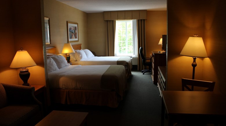 "Holiday Inn Express Room. Images powered by <a href='http://www.leonardo.com'  target=""_blank"">Leonardo</a>."