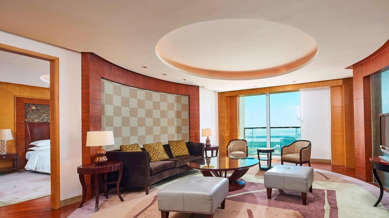 "Sheraton Zhoushan Hotel Suite. Images powered by <a href='http://www.leonardo.com'  target=""_blank"">Leonardo</a>."