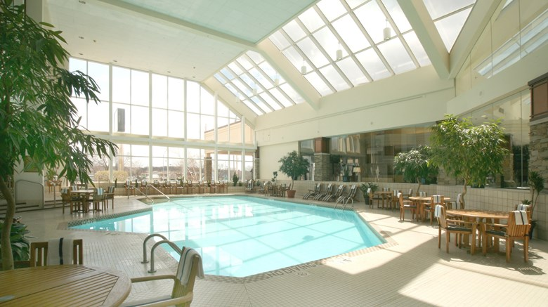 "Crowne Plaza Hotel Madison Pool. Images powered by <a href='http://www.leonardo.com'  target=""_blank"">Leonardo</a>."