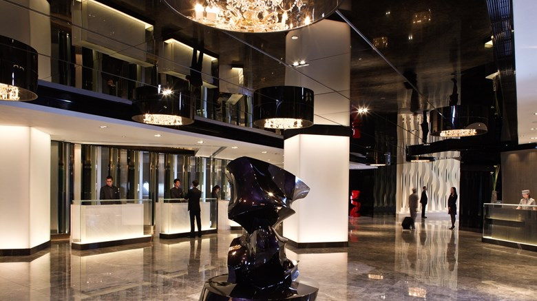 "The Mira Hong Kong, a Design Hotel Lobby. Images powered by <a href='http://www.leonardo.com'  target=""_blank"">Leonardo</a>."
