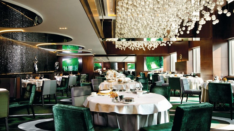 "The Mira Hong Kong, a Design Hotel Restaurant. Images powered by <a href='http://www.leonardo.com'  target=""_blank"">Leonardo</a>."