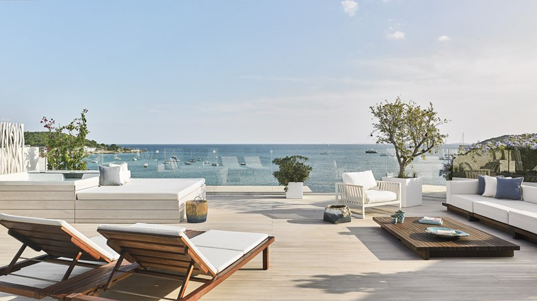 "Nobu Hotel Ibiza Bay Exterior. Images powered by <a href=&#39;http://www.leonardo.com&#39;  target=""_blank"">Leonardo</a>."