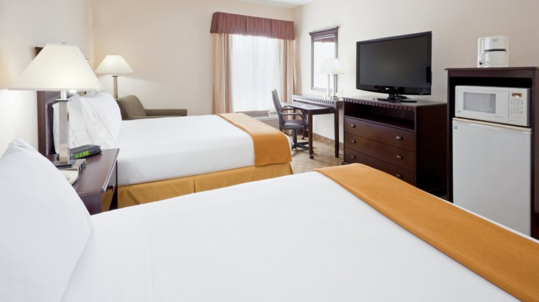 "Holiday Inn Express & Suites Room. Images powered by <a href='http://www.leonardo.com'  target=""_blank"">Leonardo</a>."