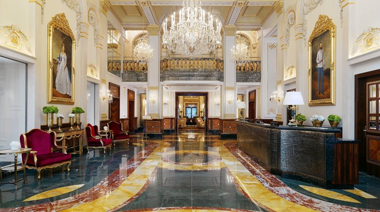 "Hotel Imperial, Luxury Collection Hotel Lobby. Images powered by <a href=&#39;http://www.leonardo.com&#39;  target=""_blank"">Leonardo</a>."
