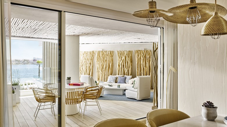 "Nobu Hotel Ibiza Bay Suite. Images powered by <a href=&#39;http://www.leonardo.com&#39;  target=""_blank"">Leonardo</a>."
