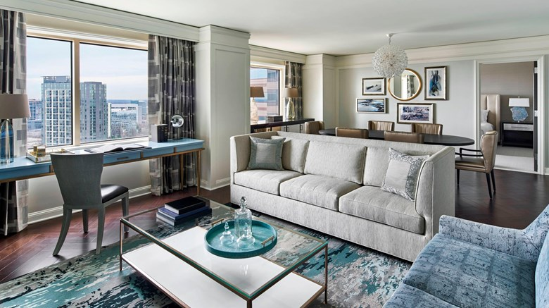 "The Ritz-Carlton, Tysons Corner Suite. Images powered by <a href='http://www.leonardo.com'  target=""_blank"">Leonardo</a>."