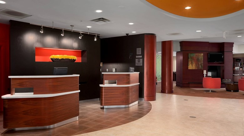 "Courtyard by Marriott Wall Township Lobby. Images powered by <a href='http://www.leonardo.com'  target=""_blank"">Leonardo</a>."