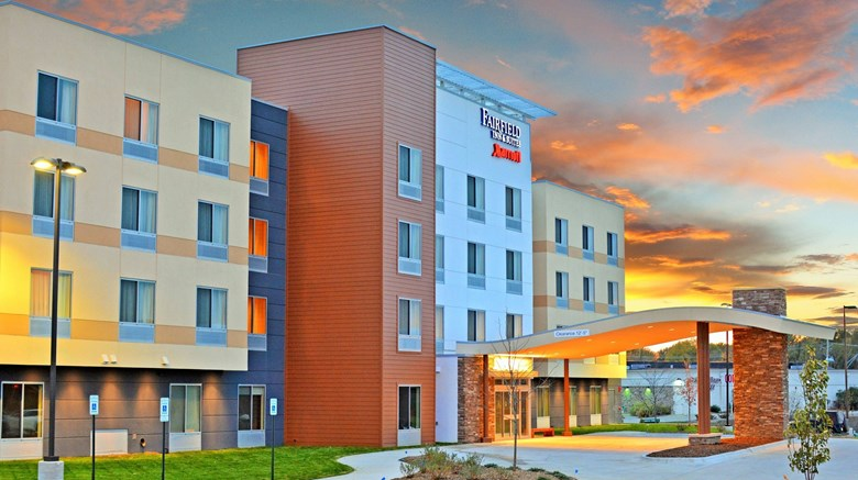 "Fairfield Inn & Suites Omaha Northwest Exterior. Images powered by <a href='http://www.leonardo.com'  target=""_blank"">Leonardo</a>."