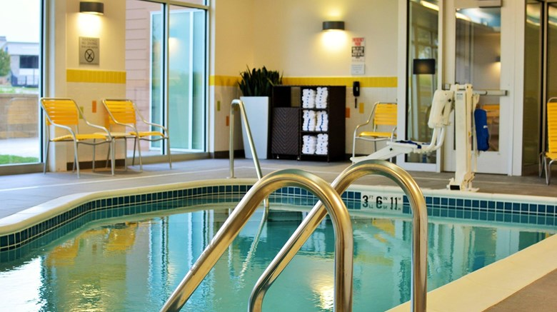 "Fairfield Inn & Suites Omaha Northwest Recreation. Images powered by <a href='http://www.leonardo.com'  target=""_blank"">Leonardo</a>."