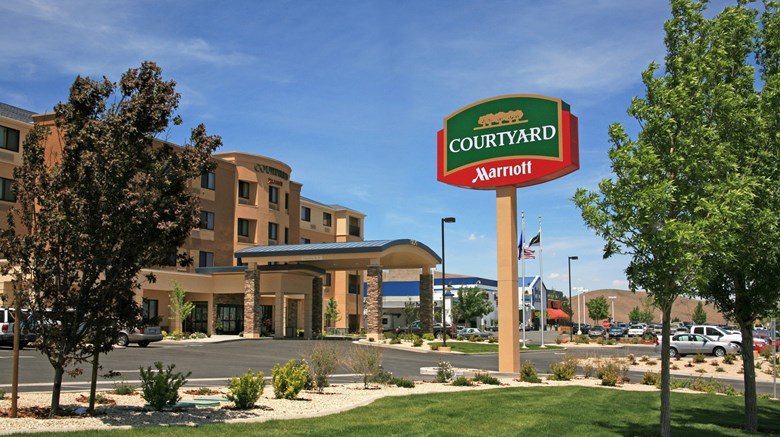 "Courtyard by Marriott Carson City Exterior. Images powered by <a href='http://www.leonardo.com'  target=""_blank"">Leonardo</a>."
