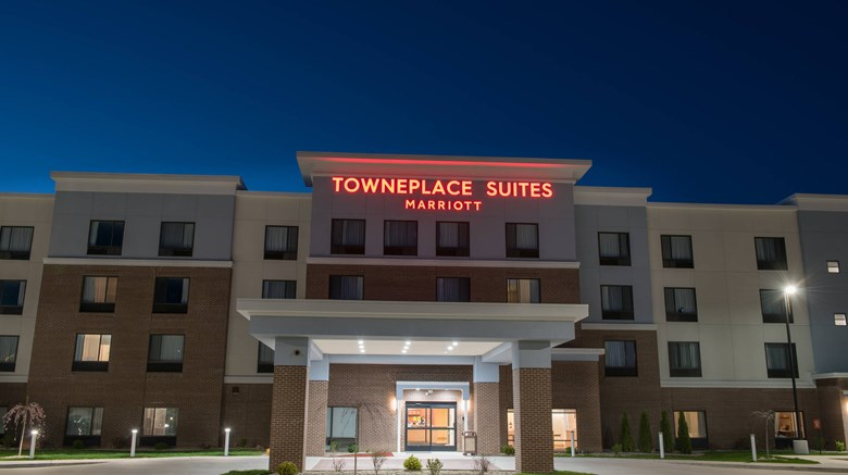 "TownePlace Suites Battle Creek Exterior. Images powered by <a href='http://www.leonardo.com'  target=""_blank"">Leonardo</a>."
