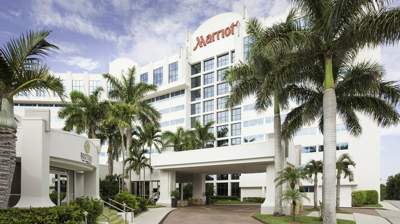 West Palm Beach Marriott Exterior