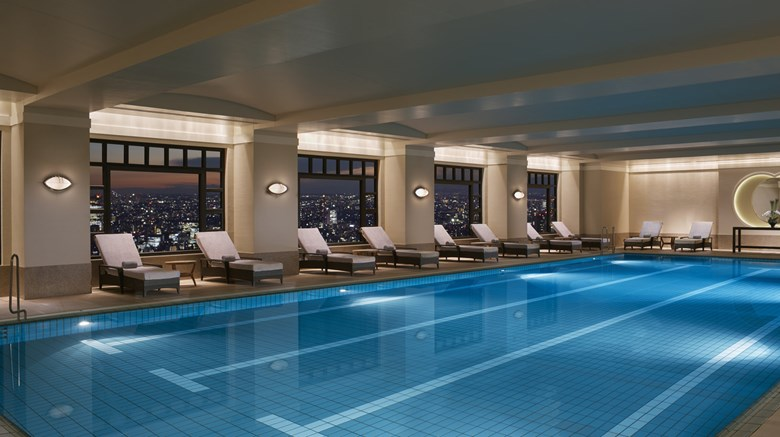"The Ritz-Carlton, Tokyo Pool. Images powered by <a href=&#39;http://www.leonardo.com&#39;  target=""_blank"">Leonardo</a>."