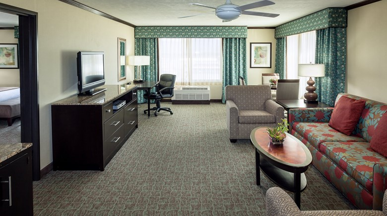 "Crowne Plaza Anchorage Midtown Suite. Images powered by <a href='http://www.leonardo.com'  target=""_blank"">Leonardo</a>."