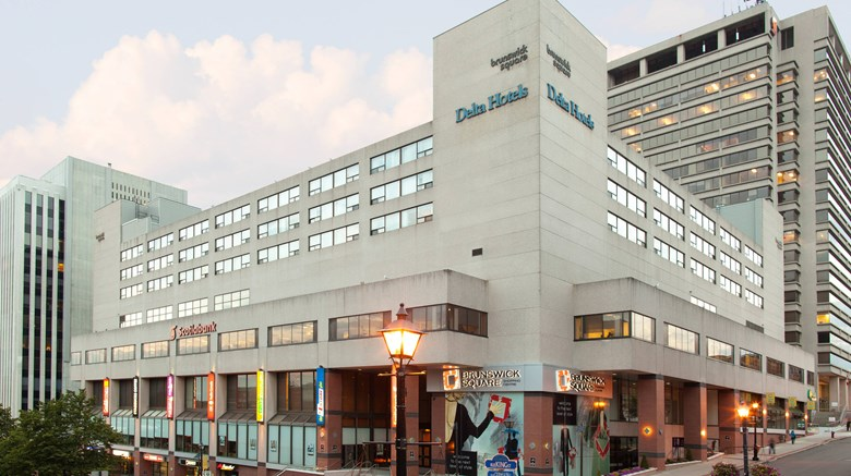 "Delta Hotels Saint John Exterior. Images powered by <a href='http://www.leonardo.com'  target=""_blank"">Leonardo</a>."