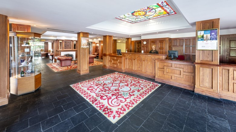 "Copthorne Hotel Cardiff Lobby. Images powered by <a href='http://www.leonardo.com'  target=""_blank"">Leonardo</a>."