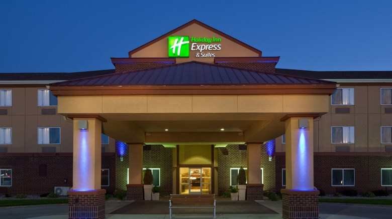 "Holiday Inn Express & Suites Exterior. Images powered by <a href='http://www.leonardo.com'  target=""_blank"">Leonardo</a>."