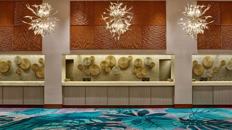 "Walt Disney World Dolphin Resort Lobby. Images powered by <a href='http://www.leonardo.com'  target=""_blank"">Leonardo</a>."