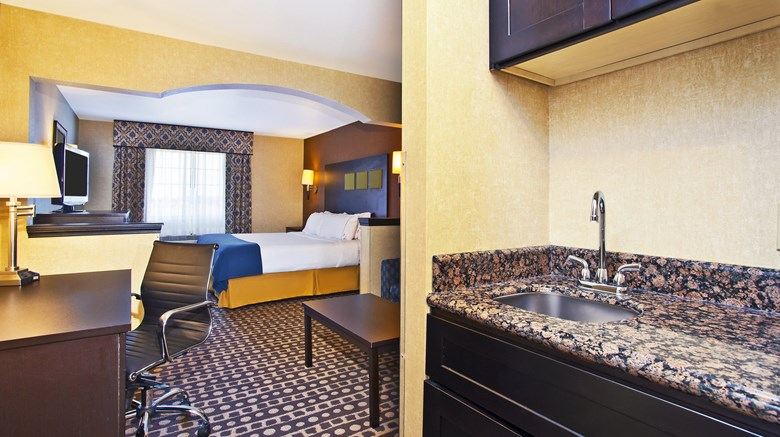 "Holiday Inn Express Wabash Suite. Images powered by <a href='http://www.leonardo.com'  target=""_blank"">Leonardo</a>."