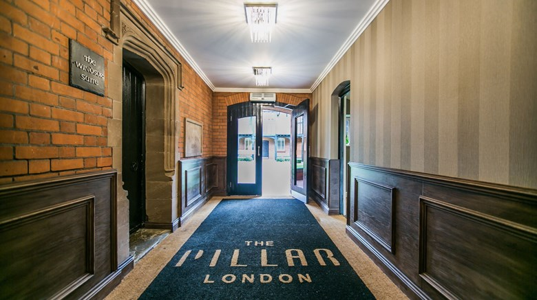 "The Pillar Hotel London Lobby. Images powered by <a href='http://www.leonardo.com'  target=""_blank"">Leonardo</a>."