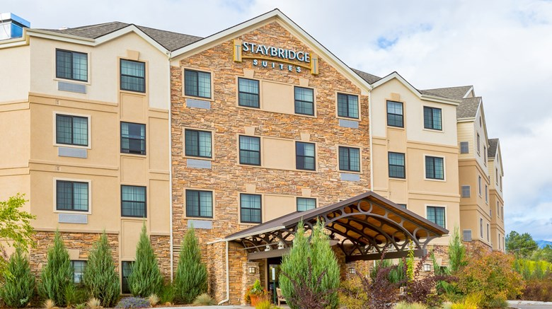 "Staybridge Suites Missoula Exterior. Images powered by <a href='http://www.leonardo.com'  target=""_blank"">Leonardo</a>."