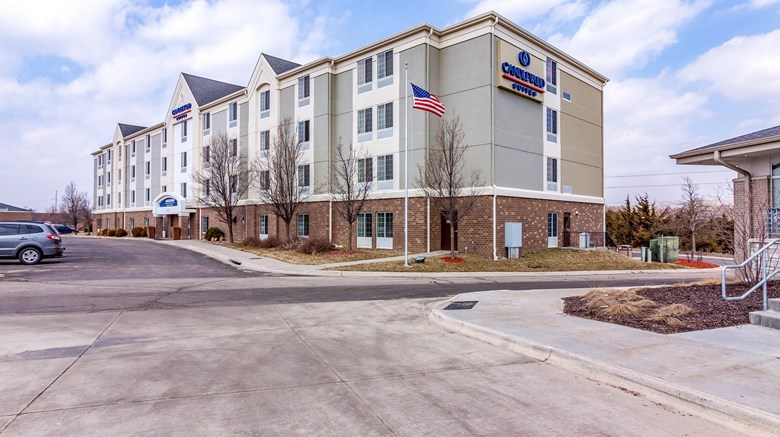 "Candlewood Suites Lincoln Exterior. Images powered by <a href='http://www.leonardo.com'  target=""_blank"">Leonardo</a>."
