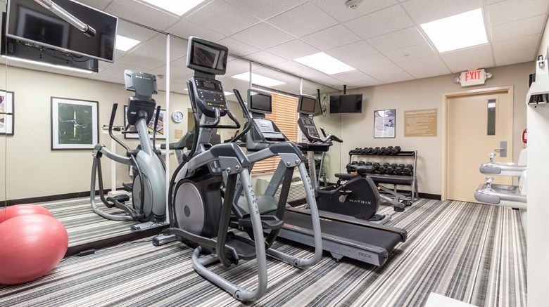 "Candlewood Suites Lincoln Health Club. Images powered by <a href='http://www.leonardo.com'  target=""_blank"">Leonardo</a>."
