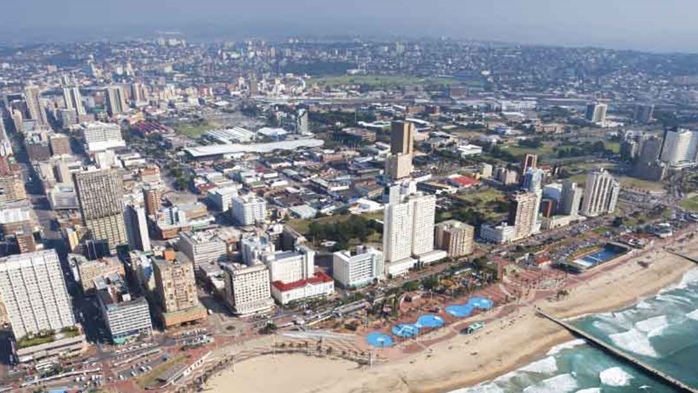 Durban is one of South Africa's most populated cities. // © 2015 Thinkstock 2