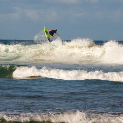 <p>The Golden Mile is an ideal destination for surfing, sunning and fishing. // © 2015 Megan Leader</p><p>Feature image (above): Durban is one of...