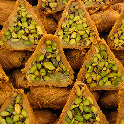 <p>Lebanon is well known for nut-filled baklava oozing with rosewater. // © 2017 Creative Commons user <a...