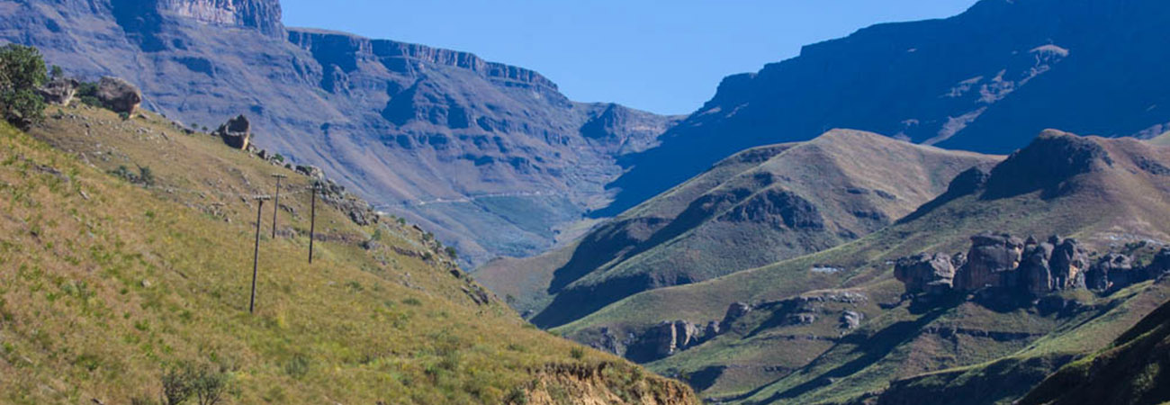 The Kingdom of Lesotho, Africa