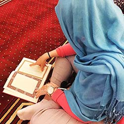 <p>Learn about the Islamic calls to prayer at the Diwan Mosque. // © 2016 Megan Leader</p><p>Feature image (above): Visits to the Sheikh Mohammed...