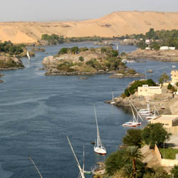 A four-night cruise on the Nile River is part of this fam trip. // © 2014 Thinkstock