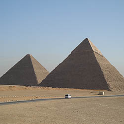 "See Egypt's ancient pyramids. // © 2017 Creative Commons user <a href=""https://www.flickr.com/photos/friutbildning/4866374062/"" title=""Lars Larsson""..."