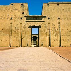 The ancient Temple of Edfu is among sights on this Egypt trip. // © 2015 Thinkstock