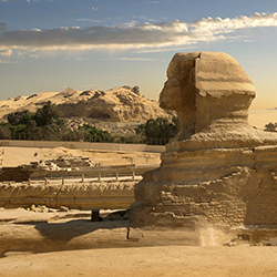 <p>Agents will visit the Sphinx in Egypt, among several other famous landmarks. // © 2016 iStock</p><div></div>