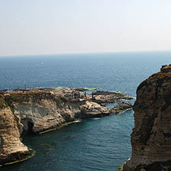 "Visit Lebanon's Pigeon Rocks during this six-day fam trip. // © 2018 Creative Commons user <a href=""https://www.flickr.com/photos/jiangkeren/""..."