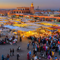 "Marrakech, Morocco, is often called the ""Pearl of the South."" // © 2015 iStock"
