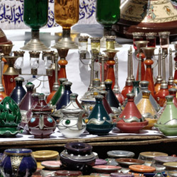 Guests on this trip from Sunny Land Tours will visit multiple Moroccan markets. // © 2014 Thinkstock