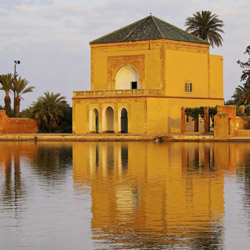 The Menara gardens outside of Marrakech were built in the 12th century. // © 2014 Thinkstock