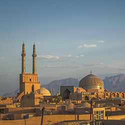 <p>Travel agents on this fam trip will visit the ancient city of Yazd, famous for the 13th-century Jameh Mosque of Isfahan. // © 2015...