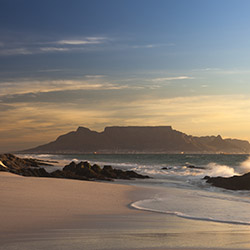 A view of Table Mountain in Cape Town, South Africa. // © Thinkstock 2014