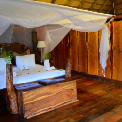 <p>A guestroom at Karongwe River Lodge, one of Karongwe Portfolio's five properties // © 2016 Tanja M. Laden</p><p>Feature image (above): South...