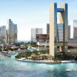 Four Seasons Hotel Bahrain Bay offers 273 rooms and suites. // © 2015 Four Seasons